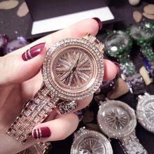 VOHE серебряные часы с бриллиантами из нержавеющей стали, часы с бриллиантами, роскошный подарок для дропшиппинга, часы Relogio Masculino(Китай)