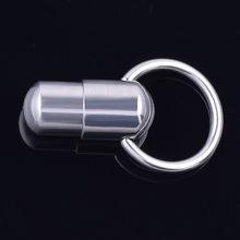 1 шт. круглое вибрационное безопасное кольцо для пупка из нержавеющей стали, соски для пирсинга живота, женские и мужские аксессуары для укр...(Китай)
