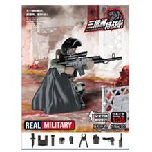 6 стилей мини солдатский набор статуэтки со строительными блоками оружие армейская Совместимость все основные бренды Военная серия подаро...(Китай)