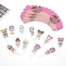 Л. О. Л. Сюрприз! Куклы lol, игрушки для вечеринки на день рождения, фигурки, тематические украшения, праздничные вечерние игрушки, подарки для ...(Китай)