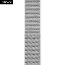 URVOI Sport loop для apple watch 5 4 3 2 полоса светоотражающий ремешок для iWatch band двухслойный крюк и петля Весна 2020(Китай)