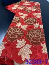 Швейцарское швейцарское кружево NIAI 2020, высококачественное кружевное полотно, африканская кружевная ткань, Модный хлопковый кружевной мате...(Китай)