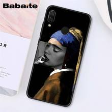 Babaite отличное эстетическое Искусство Ван Гог Мона Лиза девушка чехол для телефона для Xiaomi Redmi8 4X 6A S2 Go Redmi 5 5Plus Note4 5 7 Note8Pro(Китай)