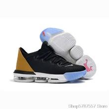 Мужская баскетбольная обувь Nike, Баскетбольная обувь 16-го поколения с низким берцем Джеймсом леброном, Размер 40-46()