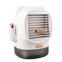 400 мл портативный Lucky Cat USB кондиционер увлажнитель воздуха для офиса мини охлаждающий вентилятор кондиционер холодный ветер кондиционер ве...(Китай)