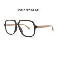 HDCRAFTER, деревянные оправы для очков, очки, очки для мужчин, негабаритные, очки по рецепту, оправа, прозрачные линзы, оптические очки(Китай)