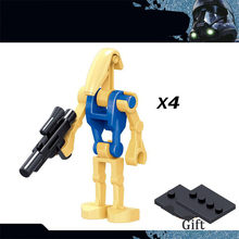 Новые Строительные блоки Звездные войны, серия IX, фигурки Звездные войны, игрушки, кирпичная голова с Legooinglys, игрушки для детей(Китай)
