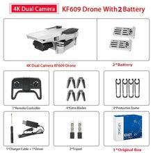 Радиоуправляемый Дрон KF609 с камерой 4k, Селфи, следуй за мной, мини-Квадрокоптер, дроны FPV, вертолет с дистанционным управлением, Квадрокоптер,...(China)