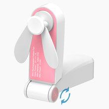 Usb карманные складные вентиляторы электрические портативные маленькие вентиляторы оригинальность маленькие бытовые электрические прибор...(Китай)