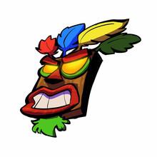 Dawasaru Crash Bandicoot мультяшная наклейка для автомобиля Водонепроницаемая наклейка для ноутбука, грузовика, мотоцикла, автомобильные аксессуары, ...(Китай)
