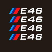 Aliauto 4 X автомобильные шины и обод наклейка Аксессуары для BMW 1 3 5 серии X1 X3 X5 X6 M3 M5 E30 E34 E36 E39 E46 E60 E90(Китай)