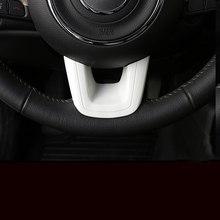 Lsrtw2017 Abs Автомобильный руль Кнопка рамка планки для Jeep Renegade компас 2016 2017 2018 2019 аксессуары комплект Авто(China)