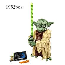 Предварительная продажа, новые строительные блоки Star Wars Yoda, совместимые с Lepining Star Wars 75255, игрушки для детей, подарок на день рождения(Китай)