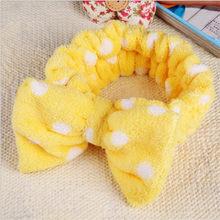 Женские повязки для волос OMG, милые мягкие повязки для волос из кораллового флиса с надписью «OMG», резинки для волос аксессуары для волос в ви...(Китай)
