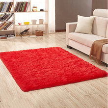 Лохматый ковер, Супермягкие современные коврики для гостиной, теплые плюшевые напольные коврики, пушистые коврики для детской комнаты, ков...(Китай)