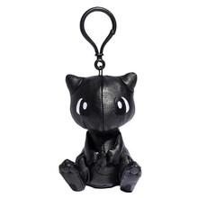 15 см фрагмент черный Пикачу кулон плюшевая игрушка Eevee Mew Высокое качество Мягкие игрушки брелок кукла(Китай)