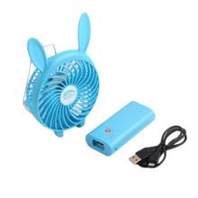 Многофункциональный вентилятор с 3 скоростями, перезаряжаемый Аккумуляторный вентилятор с USB-разъемом, с 3 скоростями, с возможностью заряд...(China)