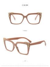 Модные готовые очки для близорукости, женские Овальные очки с кошачьей оправой, прозрачные линзы, очки по рецепту-1-1,5-2-2,5-3-3,5-4 FML(Китай)