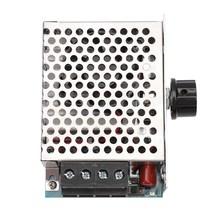 10000 Вт высокомощный регулятор напряжения SCR регулятор скорости регулятор температуры диммер термостат охлаждающий вентилятор 110 В 220 В пере...(Китай)