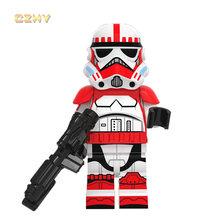 Legoinglys Звездные войны Минифигурки мандалорианцы охотник за головами курас Баи ли Элла сеура строительные блоки игрушки для детей(Китай)