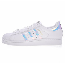 Оригинальные аутентичные мужские туфли для скейтбординга с клевером Adidas, женские кроссовки с головой ракушки, Классическая обувь с низким ...()