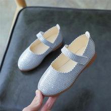 2020 модная обувь для маленьких девочек; балетки на плоской подошве для свадебной вечеринки; модельные туфли принцессы для девочек(Китай)
