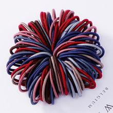 Нейлоновые эластичные резинки для волос карамельных цветов, Детские резинки для волос, повязка на голову, модные аксессуары для волос, 100 шт....(Китай)