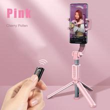 Baseus Bluetooth селфи-палка мини-камера видео штатив Беспроводной монопод балансирующая ручка Спортивная камера для iPhone IOS Android(Китай)