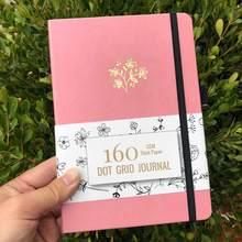 Планировщик пуль 2020, точечный блокнот, сетчатый журнал для повышения производительности, страсти, цели и счастья(Китай)