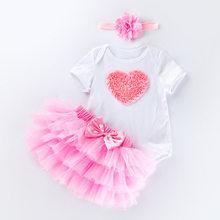 Платье принцессы для девочек 1 год, платье для маленьких девочек на день рождения, костюм для малышей, Cake Smash, платья для детей 12 мес., платье с ...(Китай)