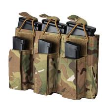Наружная сумка для инструментов, тактическая Тройная сумка для журналов-MCBK(Китай)