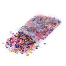 1000 шт красочные DIY Алмазные ногти чехол для телефона стол Конфетти Кристалл сад декоративная галька поддельные кристалл драгоценный камень...(Китай)
