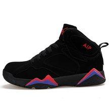 Официальные оригинальные аутентичные кроссовки для баскетбола Спорт на открытом воздухе 7 спортивные кроссовки с высоким зумом Ретро Джей...(Китай)