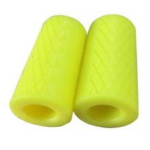 Штанга, толстые ручки для гантели, противоскользящий мышечный захват тренировочный силиконовый толстый стержень, ручка для тяги, тяжелой а...(Китай)