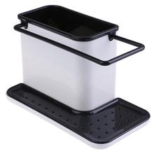 1 шт., креативные пластиковые полки, многофункциональный разделенный кухонный органайзер для хранения, отделочная полка для ванной комнаты,...(Китай)