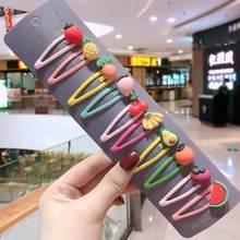 1 комплект, милые заколки для волос с фруктами, детские заколки невидимки для волос, заколка для волос, аксессуары для женщин, заколка для дев...(Китай)