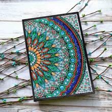Новое поступление 5D Сделай Сам алмазная живопись тетрадь особой формы алмазные художественные наборы вышивка крестиком Рождественский по...(Китай)