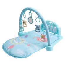 Детский игровой коврик, детский коврик для занятий в тренажерном зале, коврик-головоломка с фортепианной клавиатурой и милым животным, детс...(Китай)