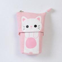 Милый чехол-карандаш на молнии Kawaii Cat Пенал школьные принадлежности для мальчиков и девочек канцелярский подарок для студента для детей ...(Китай)