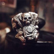 Стальное солдатское ретро кольцо змеи из нержавеющей стали Панк индивидуальное мужское регулируемое ювелирное изделие(Китай)