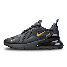 Оригинальные мужские кроссовки для бега Nike Air Max 270, удобные впитывающие Легкие дышащие кроссовки AH8050-110(Китай)