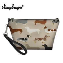 Женская косметичка Greyhound, черный, красный, для домашних животных, для путешествий, для макияжа, органайзер, чехол для хранения, 2019(Китай)