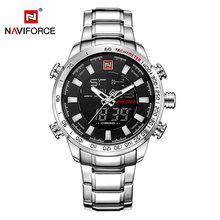Часы NAVIFORCE мужские, кварцевые, аналоговые, спортивные, водонепроницаемые(Китай)