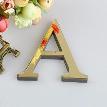 """Свадебные буквы """"Love"""", английские 3D зеркальные настенные наклейки, алфавит, домашний декор, логотип для стен, дома, акриловые, красные/черные/З...(Китай)"""