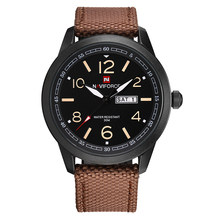 NAVIFORCE спортивные мужские часы, армейские военные мужские наручные часы с отображением недели, модные повседневные мужские часы для кемпинг...(Китай)
