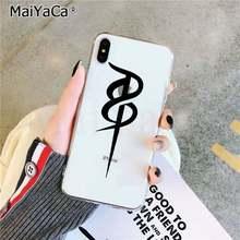 """MaiYaCa вера христианская религиозная Подвеска """"Иисус"""" текстовое искусство уникальный дизайн чехол для телефона для iPhone 11 pro XS MAX 8 7 6 6S Plus X 5 5S SE XR(Китай)"""