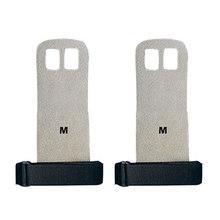 A1 Pair S M L ручка из синтетической кожи, защита для гимнастики, защита ладоней, перчатка, Тяговая планка, тяжелая атлетика(Китай)