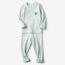 NANJIREN/Детский комплект с подштанниками, теплый топ и штаны, осенняя одежда, комплект для подростков, Детские подштанники, комплект нижнего бе...()