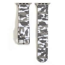 Нейлоновый спортивный ремешок nato для Apple Watch series 5 4 3 2 1 для iWatch, камуфляжный дышащий браслет 38 мм 40 мм 42 мм 44 мм(Китай)