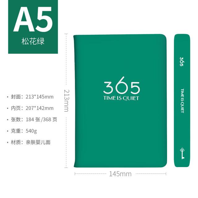 2020 записная книжка, 365 ежедневник, ежедневник, еженедельник, кожаный Органайзер, А5, записные книжки, ежемесячный график, китайский планировщ...(Китай)